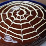 Creepy Cobweb Cake – Halloween Baking
