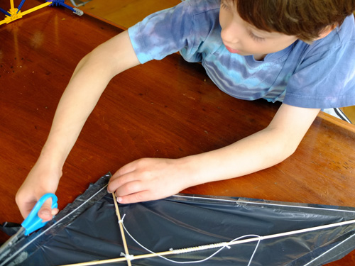 Homemade Kite Instructions
