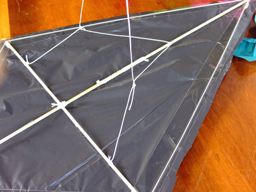a plastic bag kite