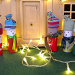 Christmas Carolers Craft –  A Cardboard Tube Choir!