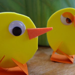 Easter Craft – Easy Peasy Chick