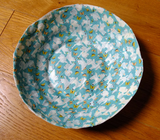 fabric bowl craft