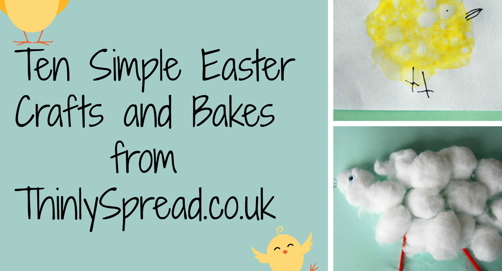 Ten Simple Easter Crafts
