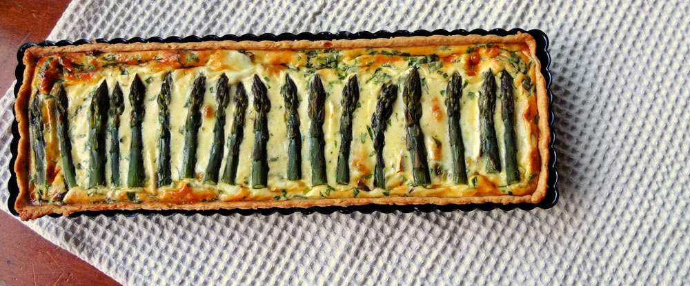 Asparagus Quiche – Spring Signature Dish with Kitchen Heroes