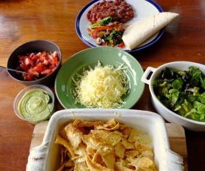 Vegetarian Fajitas – Cheatin' Chilli!