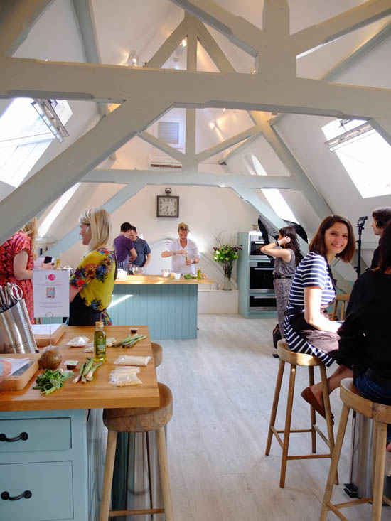 Bloggers in the Cactus Kitchens.