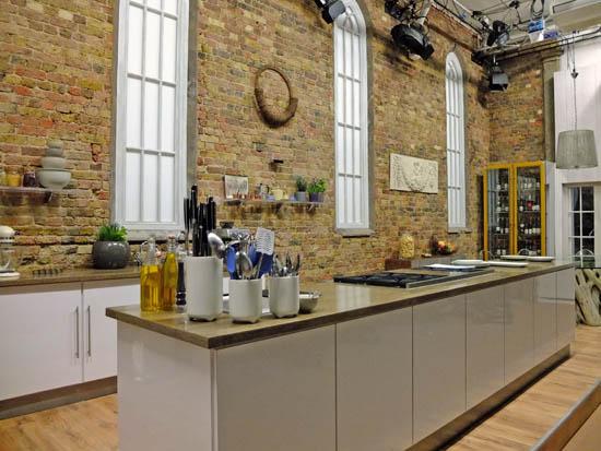 Inside the Saturday Kitchen studio.