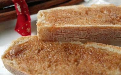 Cinnamon Butter on Toast for Festive Friday!