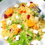 Couscous Salad in the Shade of My Apple Tree