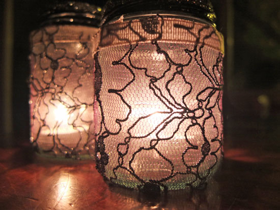 mason jar lanterns, lantern crafts, Halloween crafts