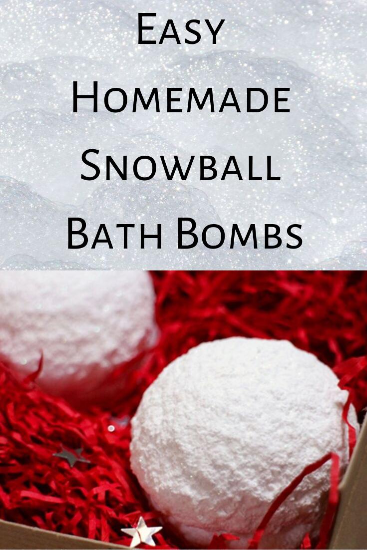 Snowball Bath Bombs in a box.