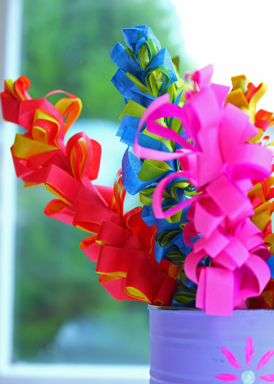 How to make paper flowers paper hyacinths thinlyspread diy paper hyacinths mightylinksfo