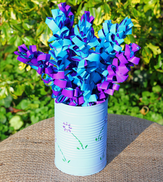 How to make paper flowers paper hyacinths thinlyspread how to make paper flowers tissue paper flowers making paper flowers with children mightylinksfo