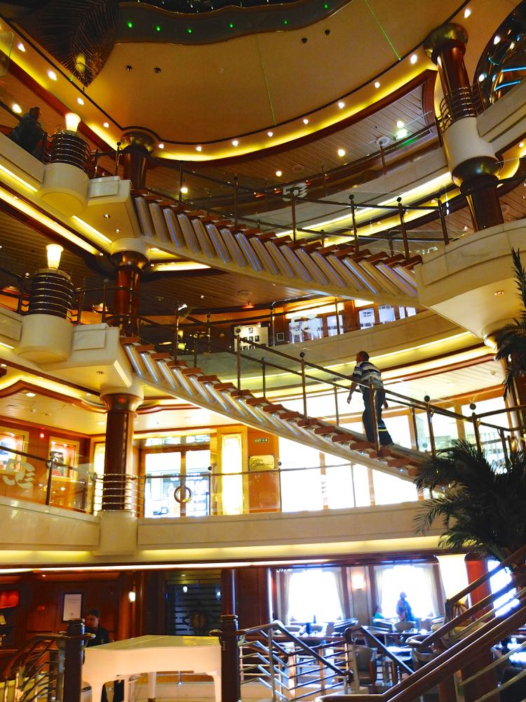 The Atrium, Island Princess, Princess Cruises