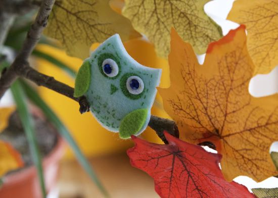 Autumn Crafts – An Autumn Tree!