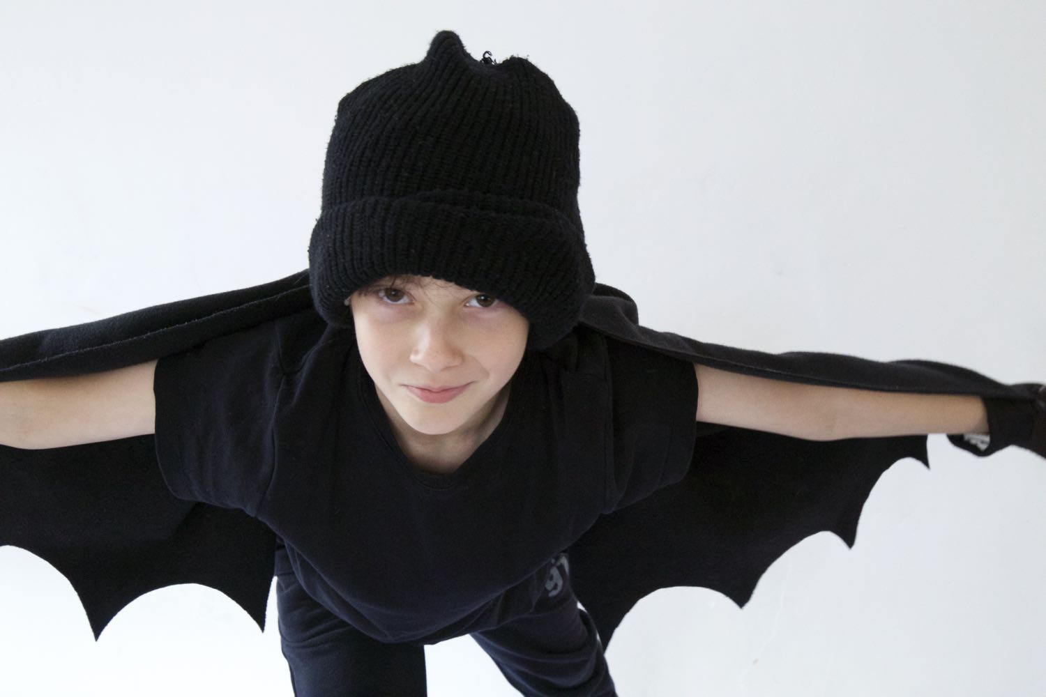 Halloween bat costume.