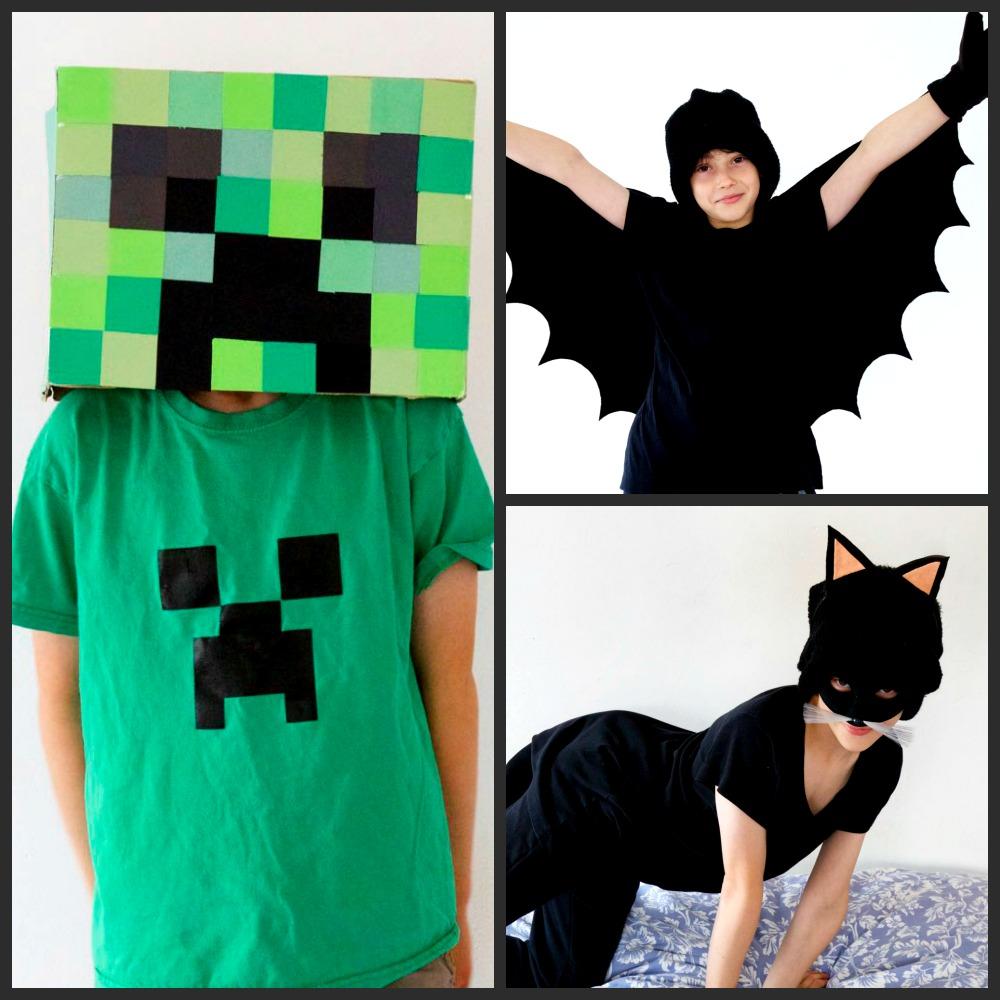 3 Easy Halloween Costumes