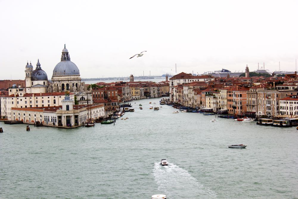 Venice Sail Away on Island Princess, Princess Cruises