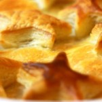 Sweet Potato & Chestnut Pie Recipe- Vegetarian Christmas