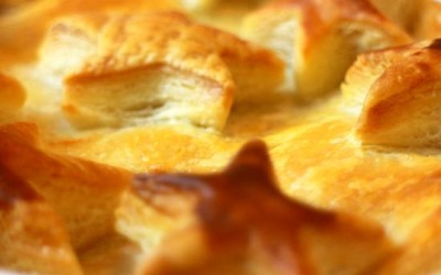 Sweet Potato & Chestnut Pie Recipe- Vegetarian Christmas
