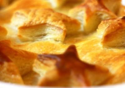 Sweet Potato & Chestnut Pie