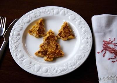 Eggy Bread with Cinnamon for Christmas Breakfast