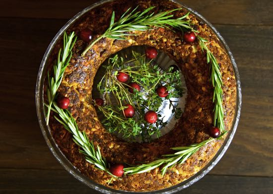 Chestnut and Cashew Nut Roast – Vegan Christmas Roast