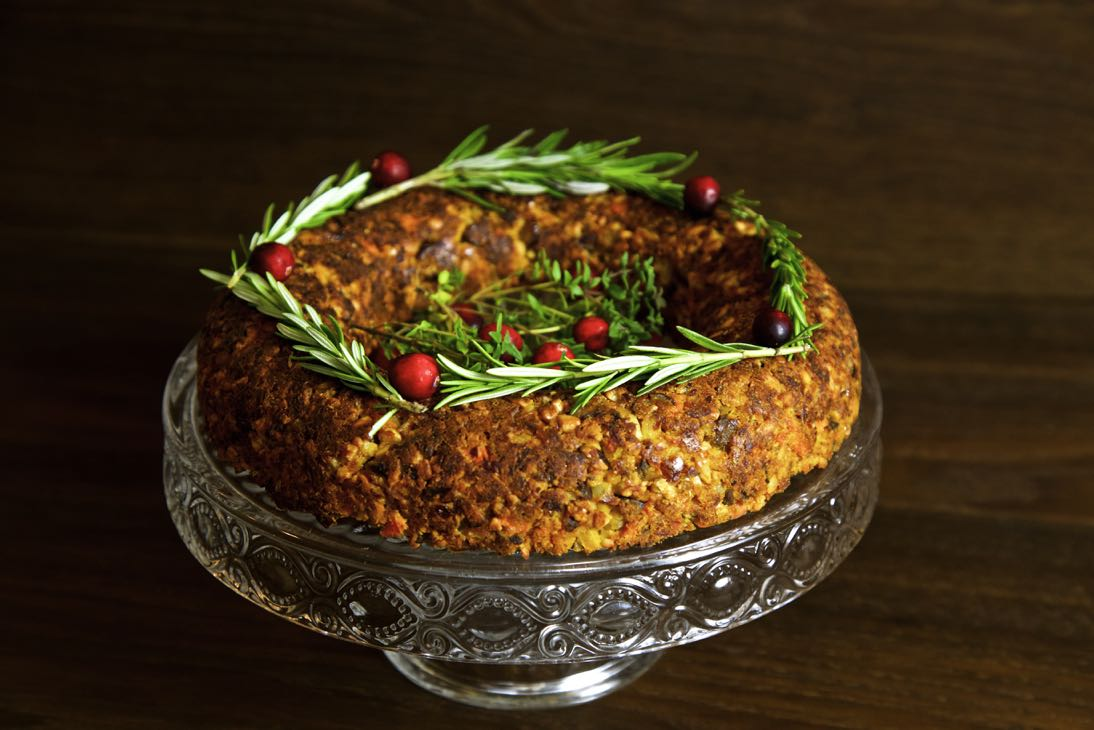 Chestnut and cashew vegan christmas roast from thinly spread vegan christmas roast a moist savoury nut roast filled with chestnuts cashews and forumfinder Image collections
