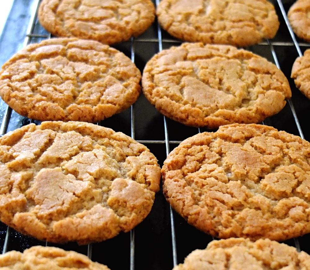 Cornish Fairings cooling on a rack, fresh from the oven.