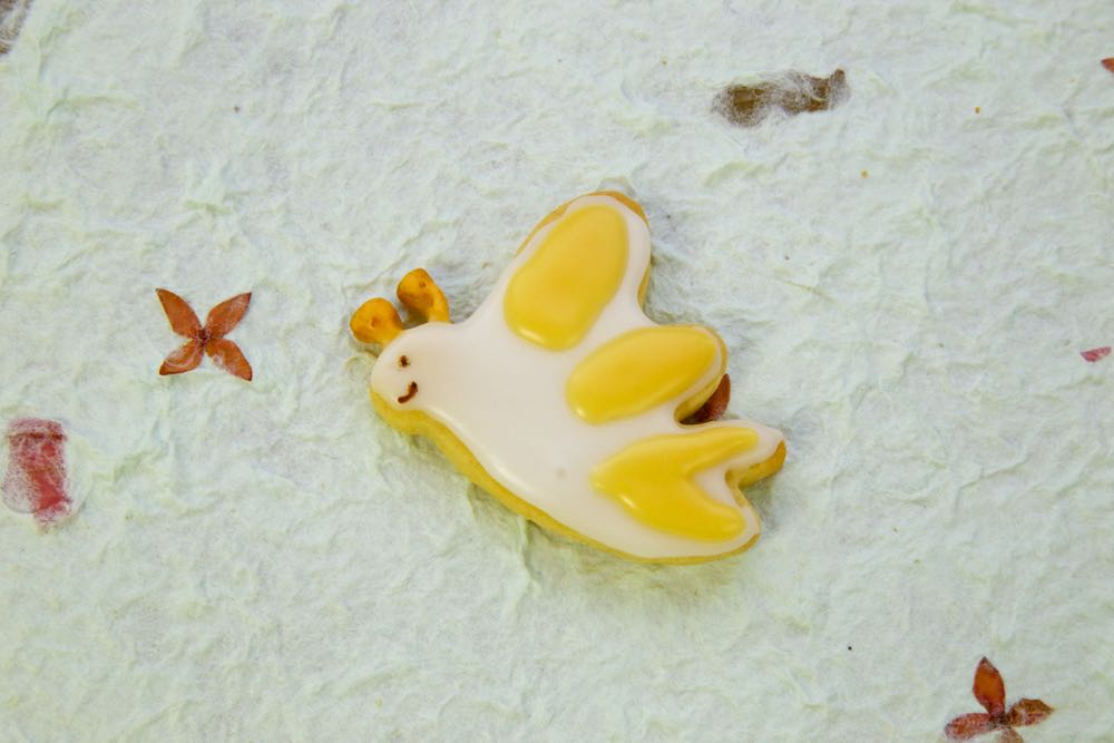 Iced Butterfly Biscuit.