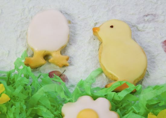Easter Baking – Spring Biscuits