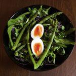 Asparagus Salad with Soft Boiled Egg