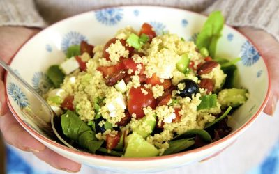Greek Salad Couscous