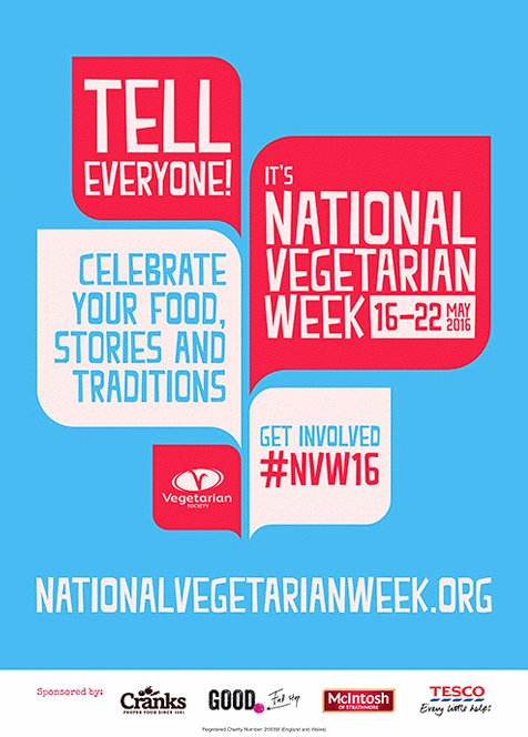 National Vegetarian Week 2016