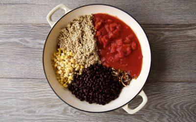 One Pot Quinoa Chilli