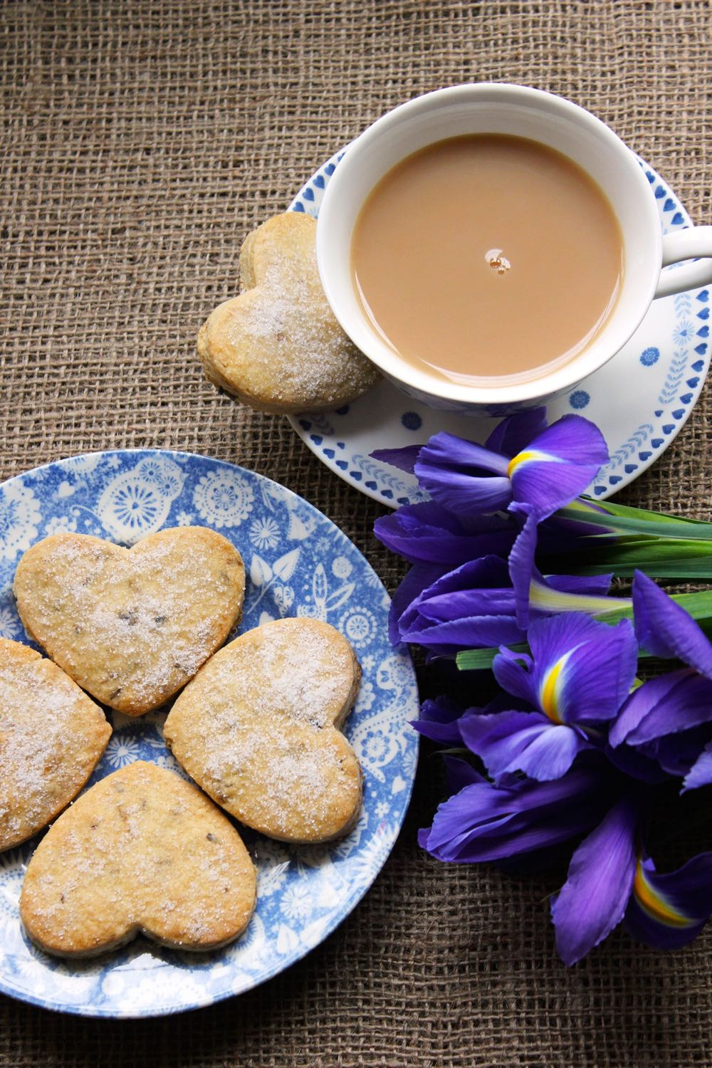 Lavender Biscuits - The smell of these cooking is amazing – the scent of the garden on a warm summer's evening wafting gently through the house and drawing people irresistibly to the kitchen, perfect!