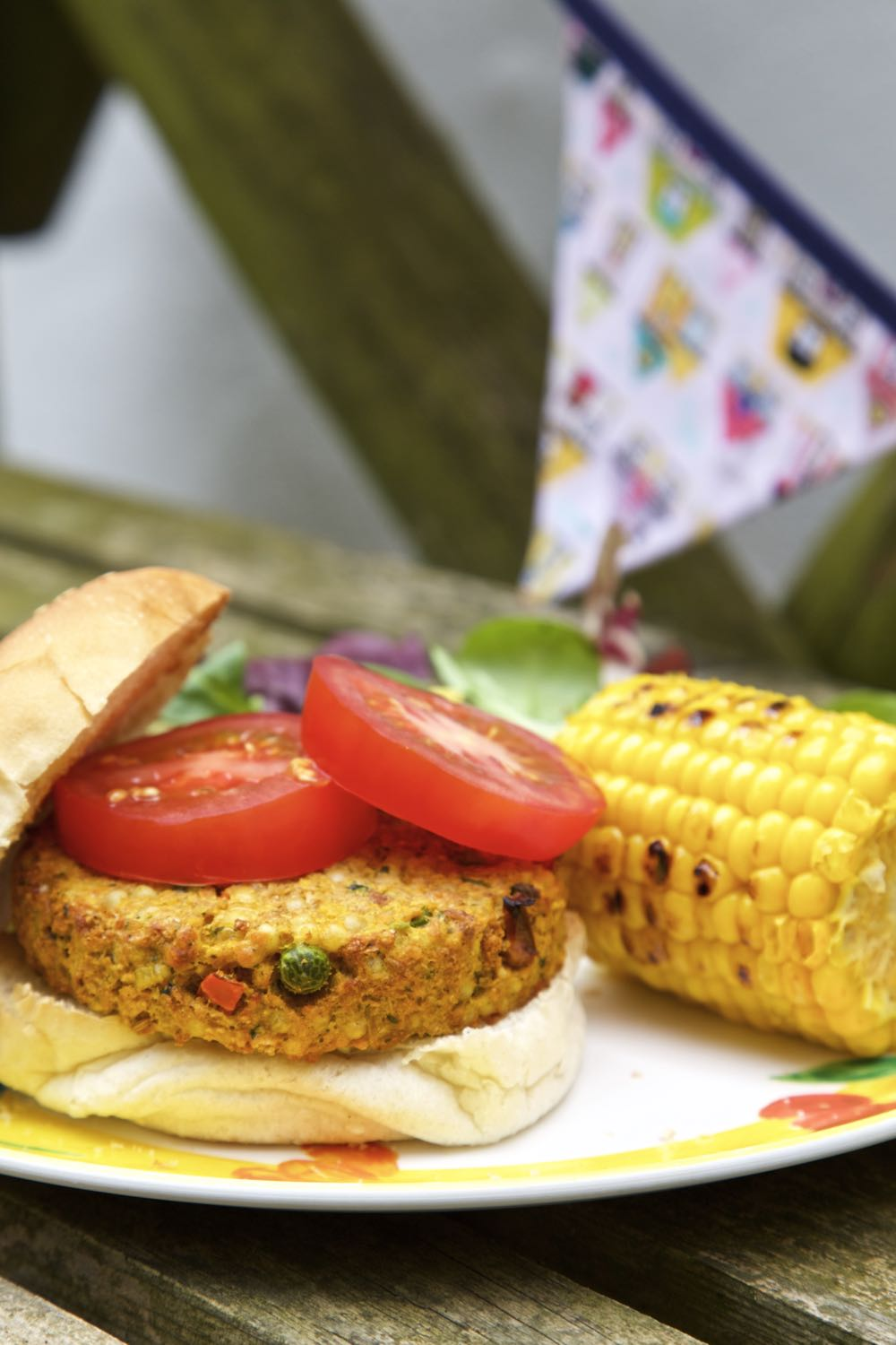 Couscous and Sweet Potato Burgers.