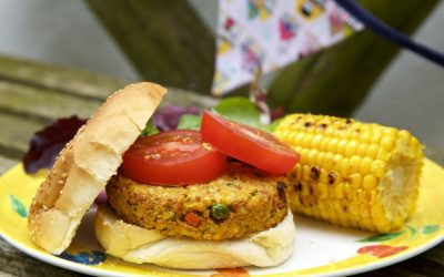 Vegetarian BBQ Recipe – Spicy Couscous Veggie Burgers