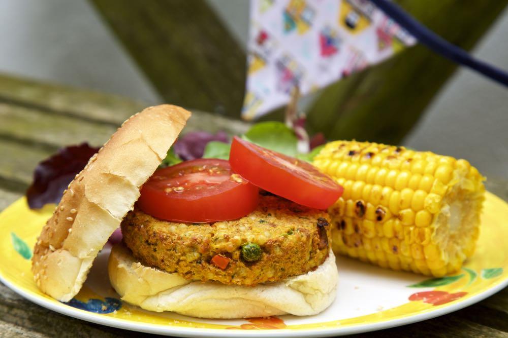Vegetarian BBQ Recipe – Spicy Couscous Veggie Burgers