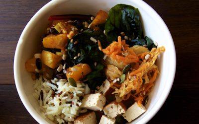 Homemade Vegan Kimchi Buddha Bowl – Fermented Deliciousness!