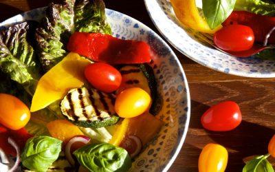 Grilled Vegetable Salad – Seasonal in September!