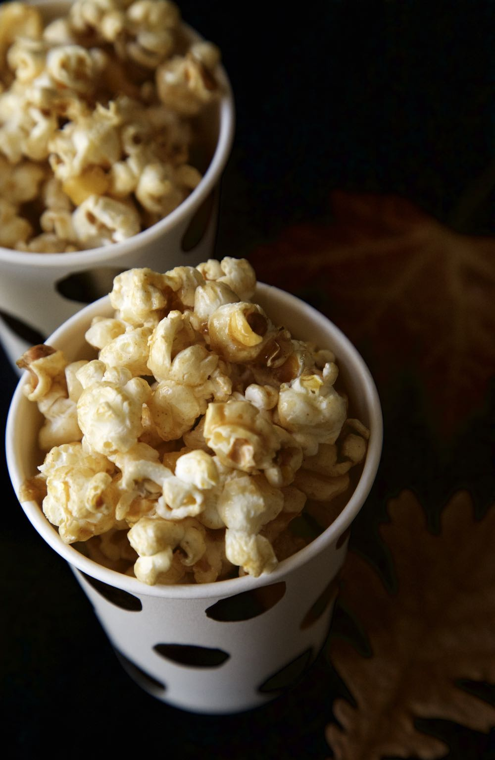 Vegan Toffee Apple Popcorn for a Halloween Feast or a Bonfire Night Party or just because you fancy it!
