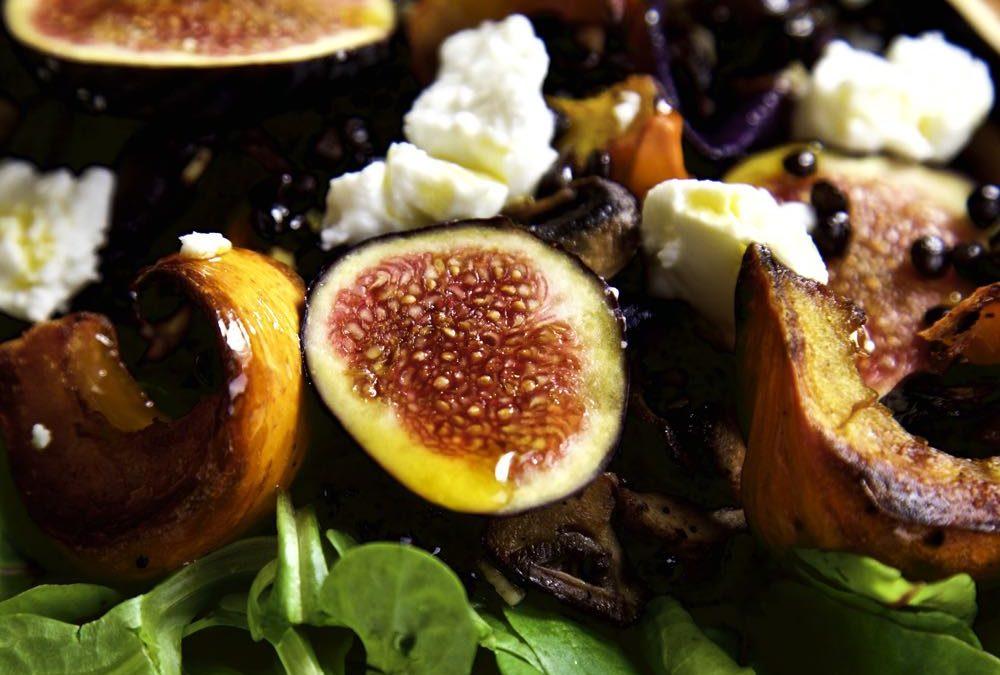 Roast Pumpkin and Fig Salad – Autumn on a Plate