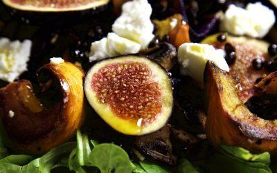 Roast Pumpkin and Fresh Fig Salad – Autumn on a Plate