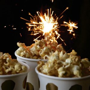 Toffee Apple Popcorn