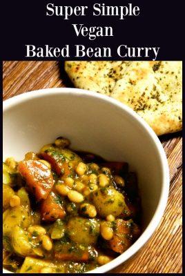 Vegan Baked bean curry.