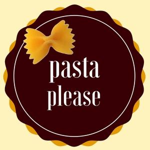 Pasta please logo.