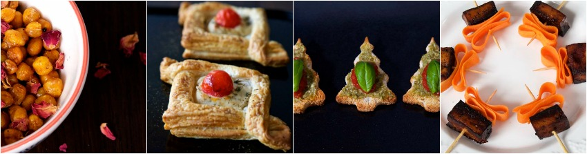 6 Vegan Canapés for Christmas