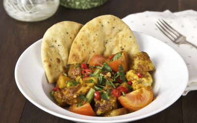 Creamy Vegan Curry with Cypriot New Potatoes
