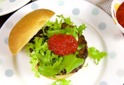 Green Lentil Burgers